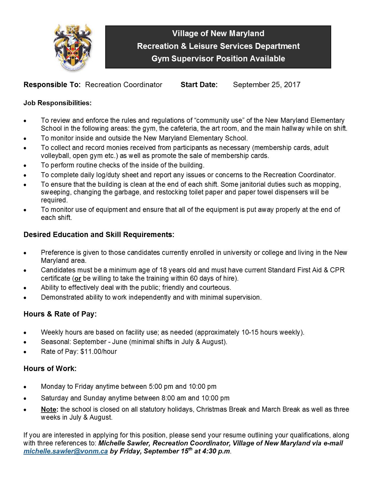 100 Sales Coordinator Job Description Application Letter