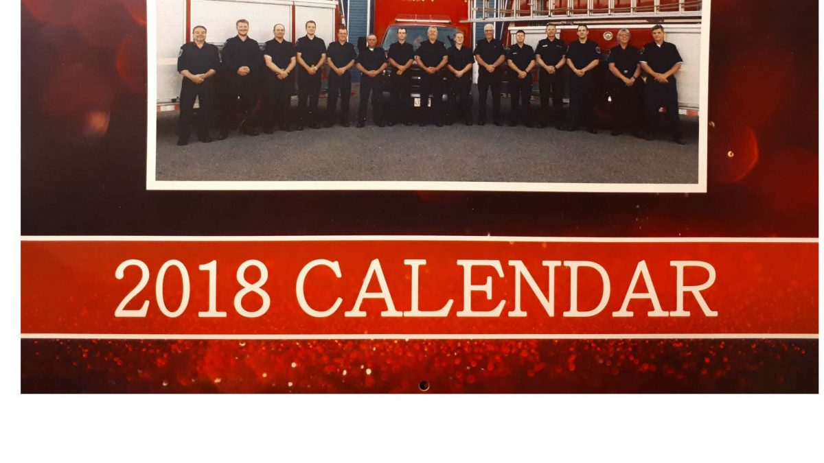 2018 New Maryland Fire Dept Calendars Village Of New